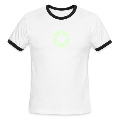 Star - Men's Ringer T-Shirt