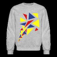 Long Sleeve Shirts ~ Crewneck Sweatshirt ~ Pedal Crank