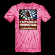 T-Shirts ~ Unisex Tie Dye T-Shirt ~ Official Dogs Against Romney Doberman Tie Dye Tee