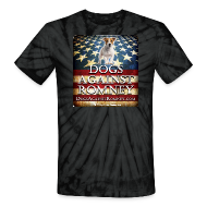 T-Shirts ~ Unisex Tie Dye T-Shirt ~ Official Dogs Against Romney Jack Russell Tie Dye Tee