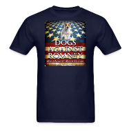 T-Shirts ~ Men's T-Shirt ~ Official Dogs Against Romney Jack Russell Tee