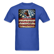 T-Shirts ~ Men's T-Shirt ~ Official Dogs Against Romney Doberman  Tee