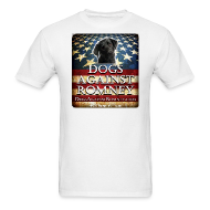 T-Shirts ~ Men's T-Shirt ~ Official Dogs Against Romney Black Lab Tee