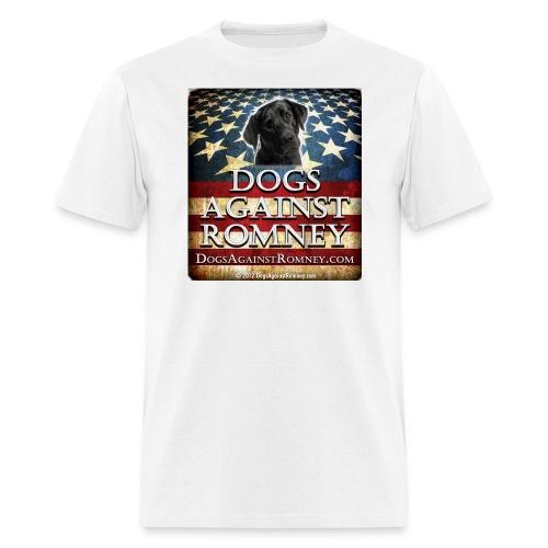 Official Dogs Against Romney Black Lab Tee - Men's T-Shirt