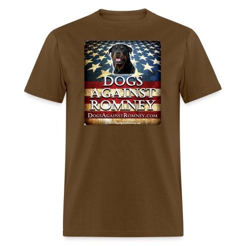 Official Dogs Against Romney Rottie Tee - Men's T-Shirt