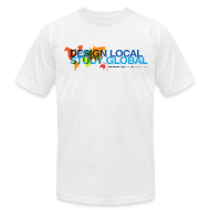 T-Shirts ~ Men's T-Shirt by American Apparel ~ Sessions College: Design Local - Study Global Men's t-shirt