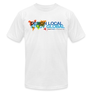 Sessions College: Design Local - Study Global Men's t-shirt - Men's T-Shirt by American Apparel