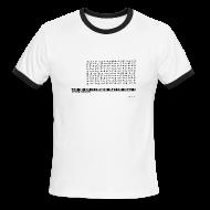T-Shirts ~ Men's Ringer T-Shirt ~ 900 games 1 club