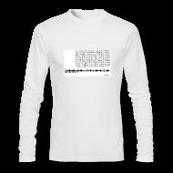 Long Sleeve Shirts ~ Men's Long Sleeve T-Shirt by American Apparel ~ 900 games 1 club