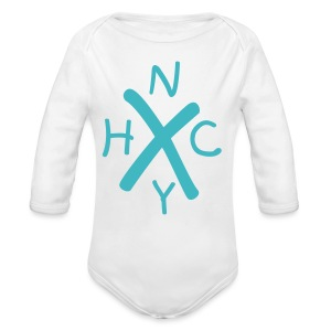NYHC New York Hardcore (Baby One Piece) - Long Sleeve Baby Bodysuit