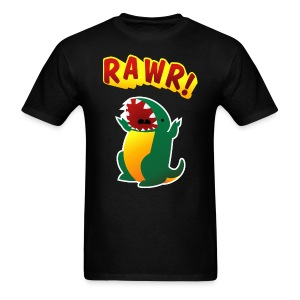 Mens Tee : RAWR - Men's T-Shirt