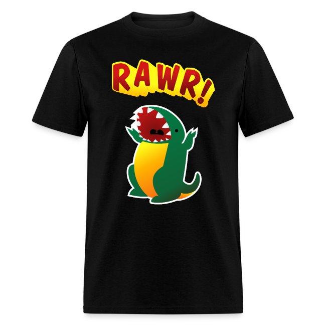 Mens Tee : RAWR