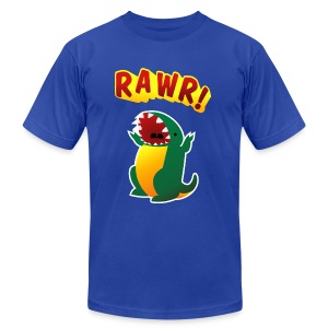 American Apparel Tee : RAWR - Men's T-Shirt by American Apparel