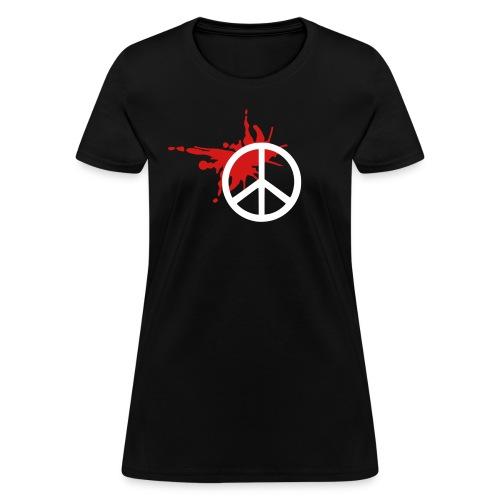 splat peace - Women's T-Shirt