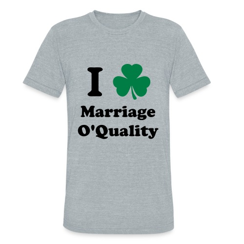 Marriage O'Quality 2012 Tri-Blend - Unisex Tri-Blend T-Shirt
