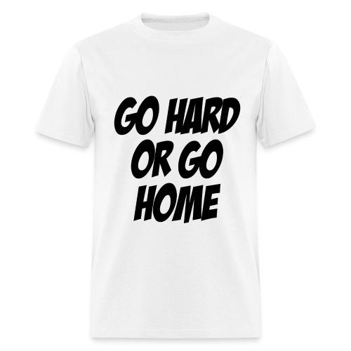 GO Hard - Men's T-Shirt