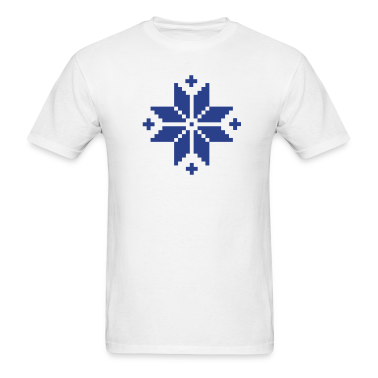 Norwegian pattern star T-Shirts