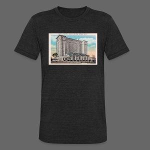 Michigan Central Station - Unisex Tri-Blend T-Shirt