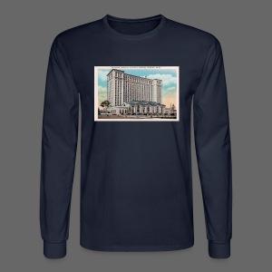 Michigan Central Station - Men's Long Sleeve T-Shirt