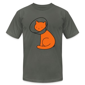 Cone of Shame - Men's T-Shirt by American Apparel