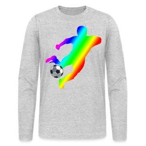 Soccer - Men's Long Sleeve T-Shirt by Next Level
