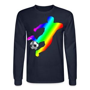 Soccer - Men's Long Sleeve T-Shirt