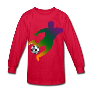Soccer - Kids' Long Sleeve T-Shirt