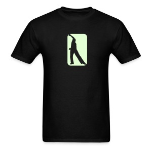 Glow in the dark Guy Salsa T SHirt. - Men's T-Shirt