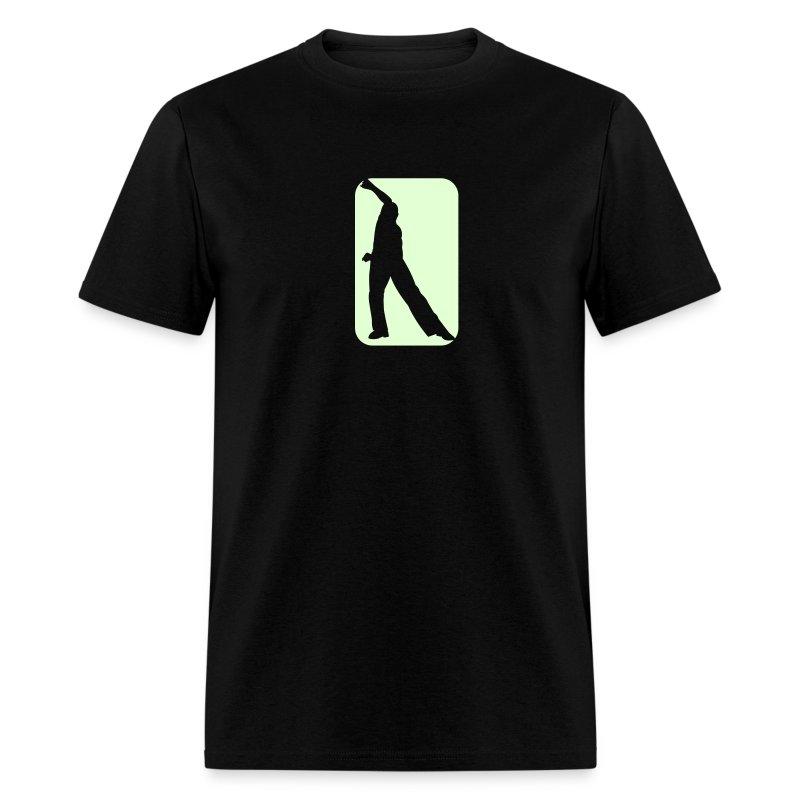 Glow in the dark Guy Salsa T SHirt. - Men's T-Shirt