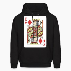 King of diamonds. Hoodies