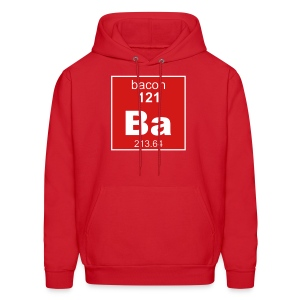 Bacon Element Men's Hooded Sweatshirt - Men's Hoodie
