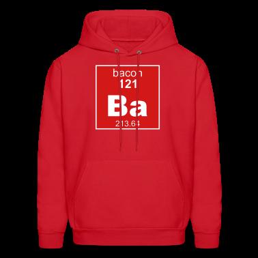 Bacon Element Men's Hooded Sweatshirt