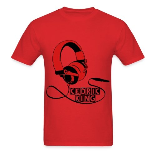 Red Cedric King T-Shirt - Men's T-Shirt