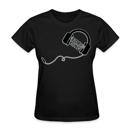 Black Cedric King T-Shirt - Women's T-Shirt