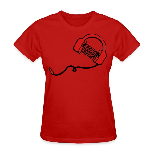 Red Cedric King T-Shirt - Women's T-Shirt