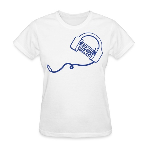 White Cedric King T-Shirt - Women's T-Shirt