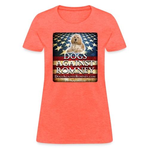 Official Dogs Against Romney Cocker Spaniel Women's Tee - Women's T-Shirt