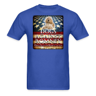T-Shirts ~ Men's T-Shirt ~ Official Dogs Against Romney Cocker Spaniel Tee