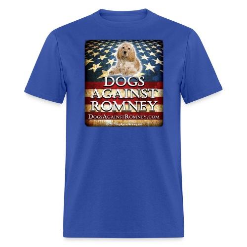 Official Dogs Against Romney Cocker Spaniel Tee - Men's T-Shirt