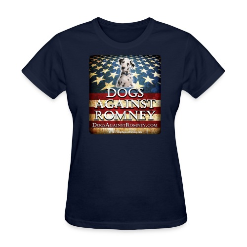 Official Dogs Against Romney Dalmation Women's Tee - Women's T-Shirt