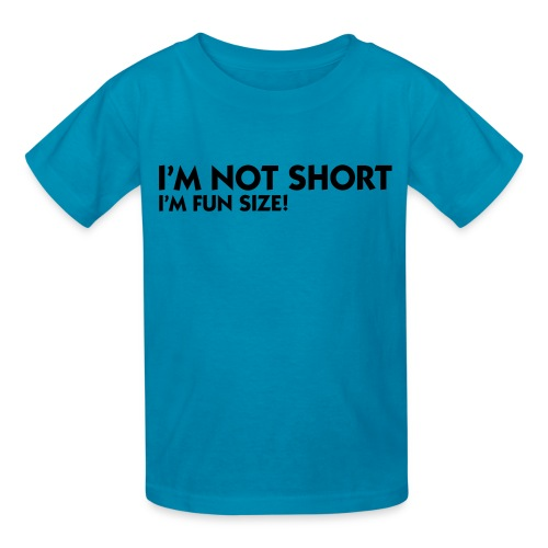 i'm not short - Kids' T-Shirt