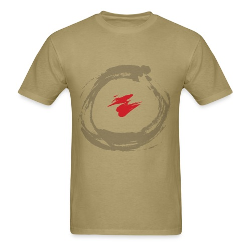 SE Circle of Life Khaki Tee - Men's T-Shirt