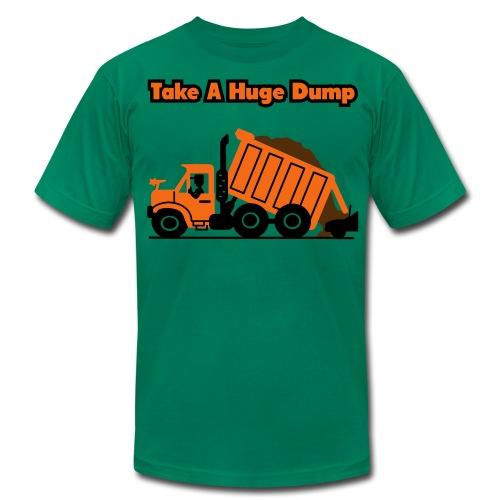 Take A Huge Dump - Dump Truck - Mens T-Shirt - Men's  Jersey T-Shirt
