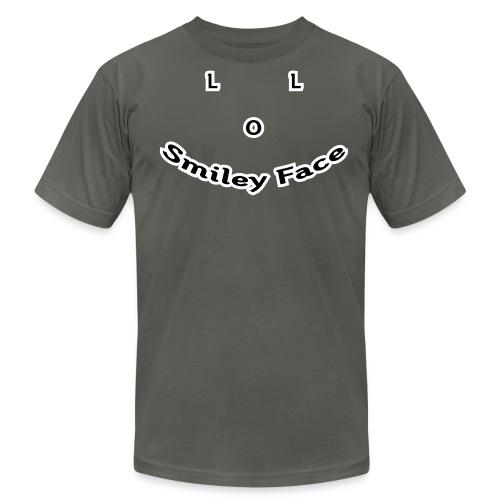 LOL Smiley Face – Mens T-Shirt - Men's  Jersey T-Shirt