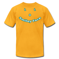 T-Shirts ~ Men's T-Shirt by American Apparel ~ LOL Smiley Face – Mens T-Shirt