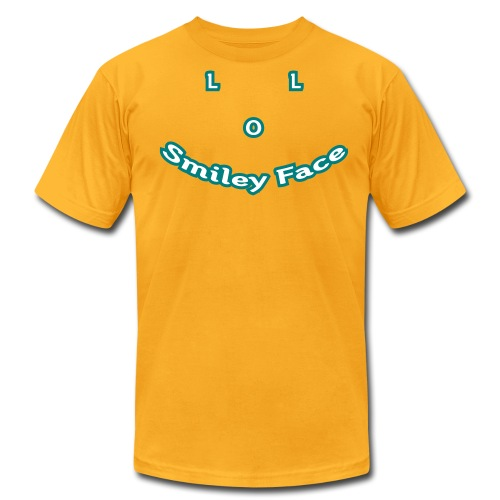 LOL Smiley Face – Mens T-Shirt - Men's Fine Jersey T-Shirt