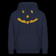 Hoodies ~ Men's Hoodie ~ LOL Smiley Face – Mens Hoodie