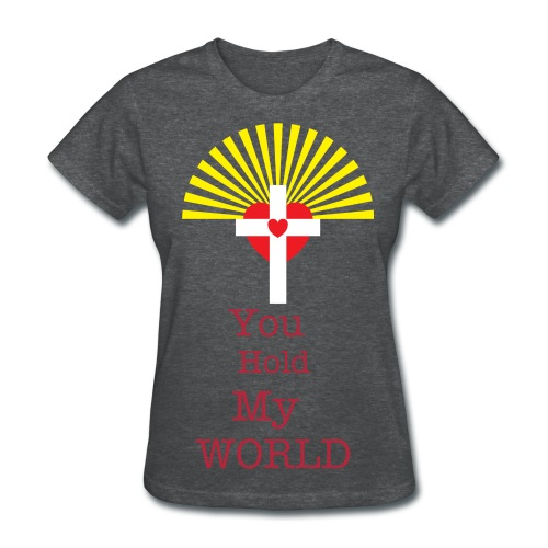 Jesus is the Center - Women's T-Shirt