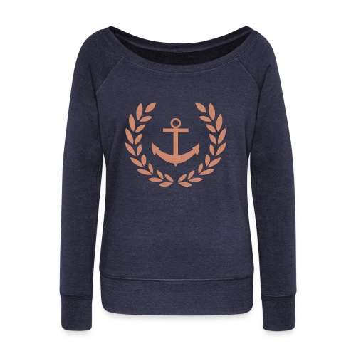For Hope, For Strength, For Life - Women's Wideneck Sweatshirt