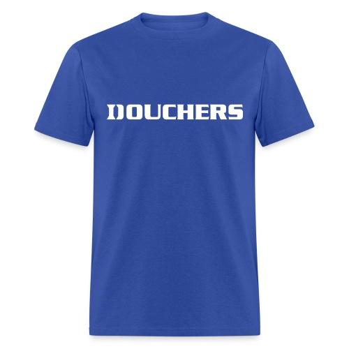 Douchers Shirt -  Blue Devil Hate Shirt - Men's T-Shirt